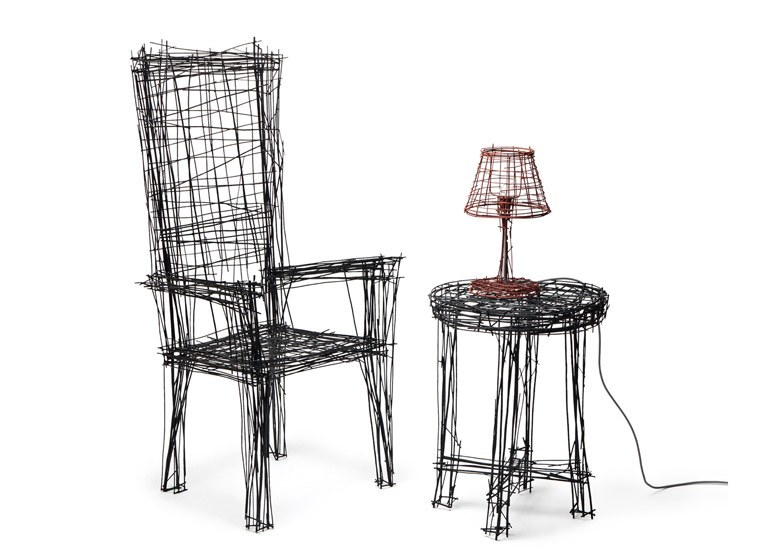 drawing furniture