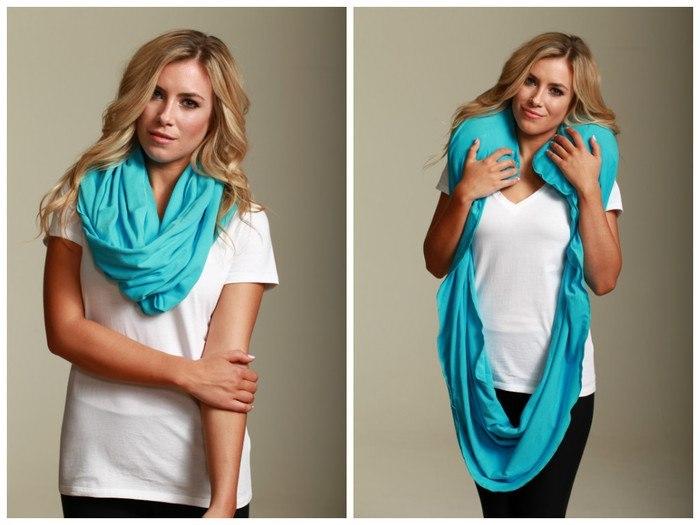 scarf pillow