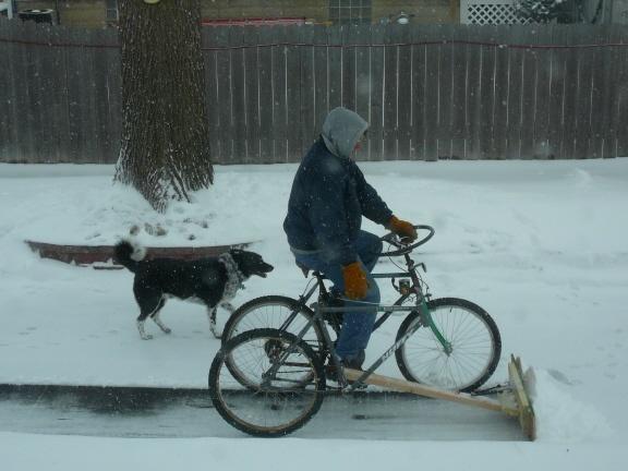 snowplow bicycle