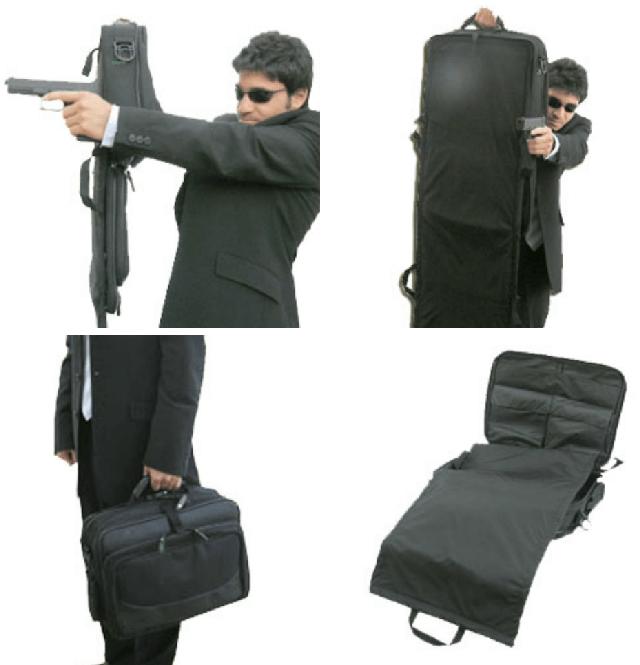 bulletproof briefcase