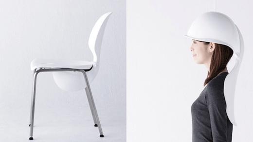 helmet-chair