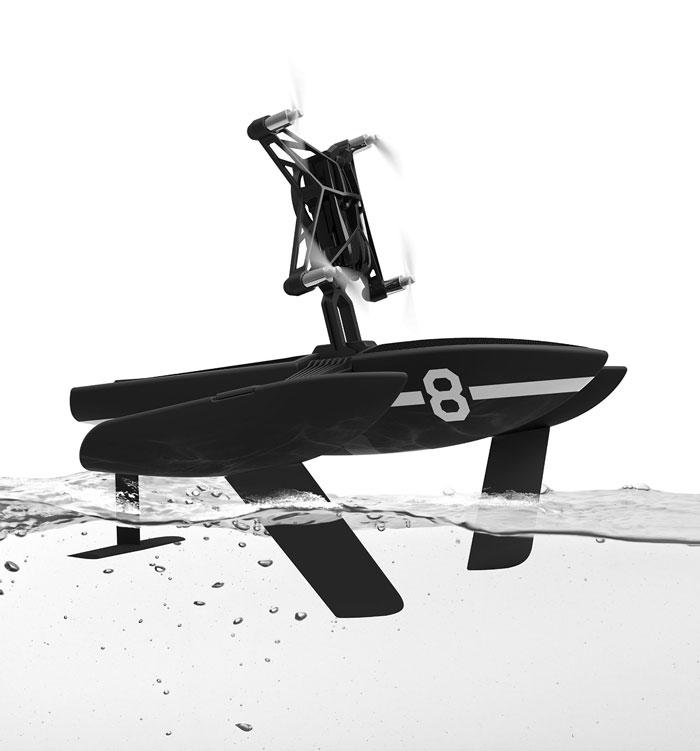 hydrofoil-drone