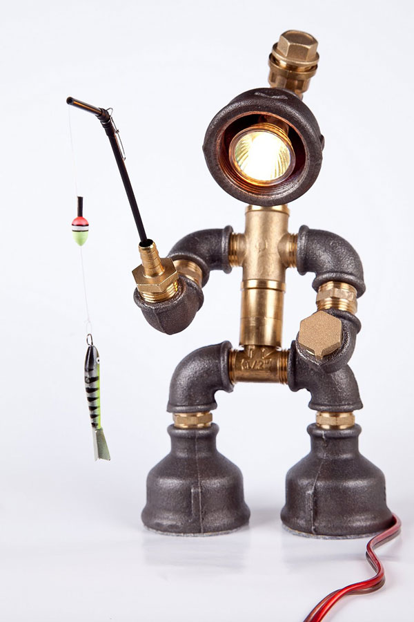 fisherman-steampunk-robot-lamp