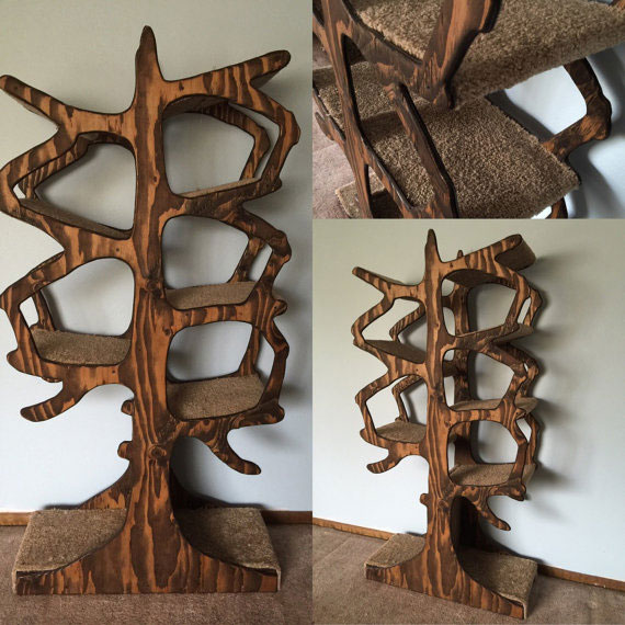 handmade-tree-inspired-cat-tree