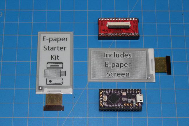 e-paper-shield-kit